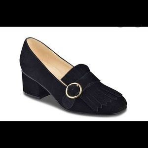 Marc Fisher Mabel: Suede Loafer-inspired Heels